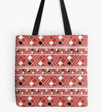 Yuchi Red Square Tote Bag