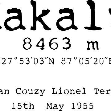 Makalu Mountain Black by LittleFrogDes