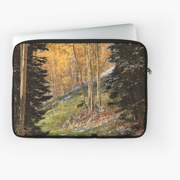 Autumn's Blessing Throw Pillow and Tote Bag Laptop Sleeve