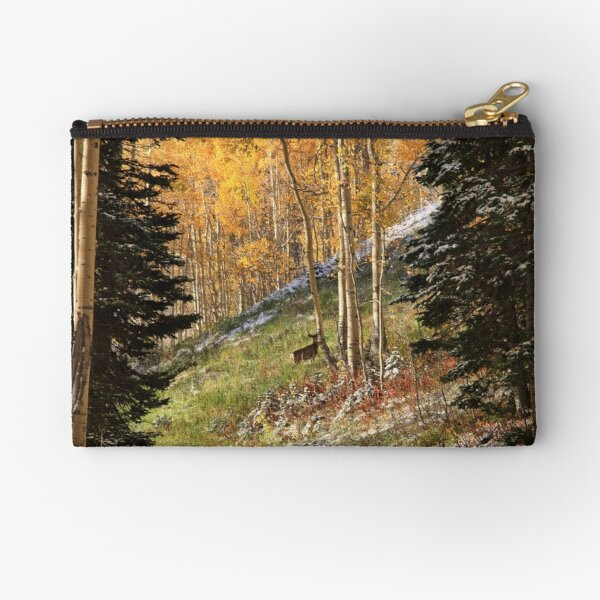 Autumn's Blessing Throw Pillow and Tote Bag Zipper Pouch