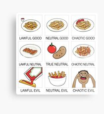 ketchup and fries alignment system Metal Print