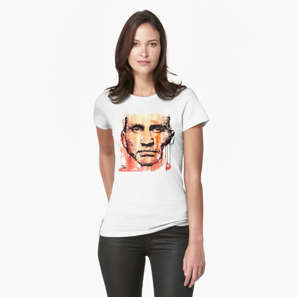 The fighter Tailliertes T-Shirt