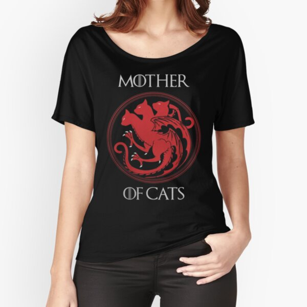 Mother of Cats Relaxed Fit T-Shirt