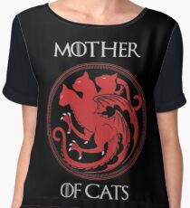 Mother of Cats Women's Chiffon Top