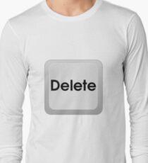 Keyboard Delete Key Long Sleeve T-Shirt