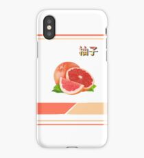 Peach Aesthetic tumblr grapefruit iPhone Case/Skin