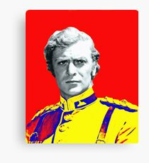 Michael Caine in Zulu Canvas Print
