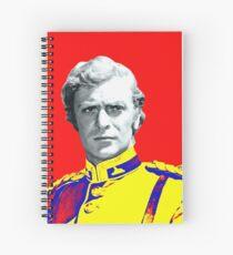 Michael Caine in Zulu Spiral Notebook