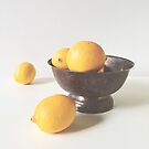 Lemons in a Bowl by OLIVIA JOY STCLAIRE