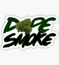 Dope Smoke Sticker