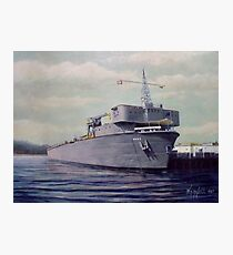 USS Waterford ARD-5 Photographic Print