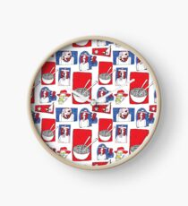 Red, White and Soup Clock