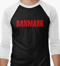 Denmark Men's Baseball ¾ T-Shirt