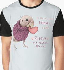 Rhea - Rhea-ly Cute! Graphic T-Shirt