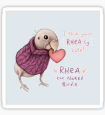 Rhea - Rhea-ly Cute! Sticker