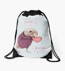 Rhea - Rhea-ly Cute! Drawstring Bag