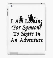 A Most Interesting Adventure iPad Case/Skin