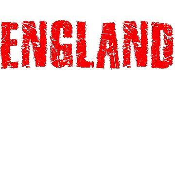 England by g3nzoshirts