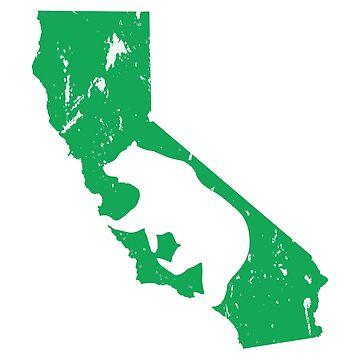 Oso de California - Teal de LH-Creative