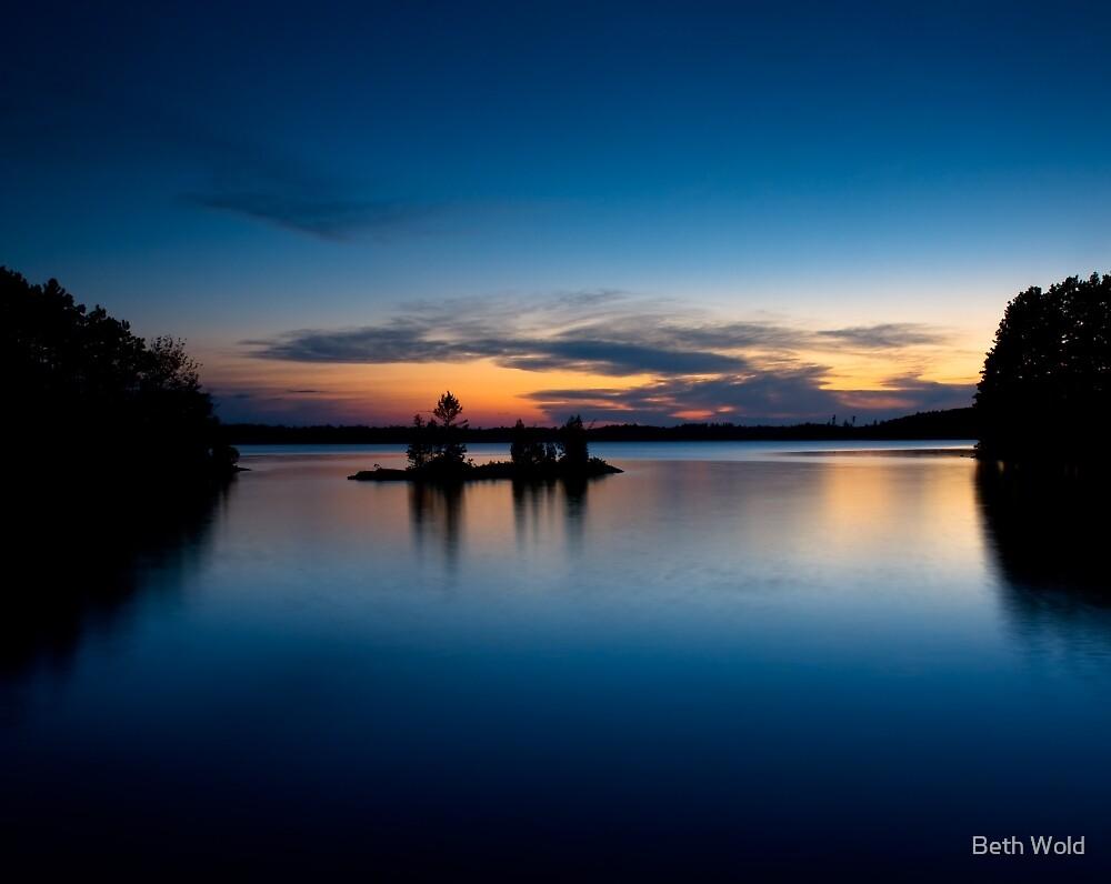 Burntside Lake by Beth Wold