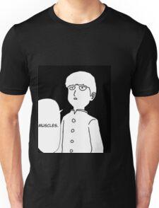 MOB PYSCHO 100 MUSCLES BODY IMPROVEMENT CLUB! Unisex T-Shirt