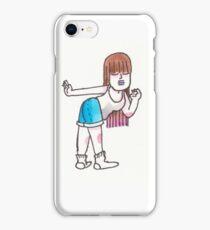 Sassy Brunette Girl iPhone Case/Skin