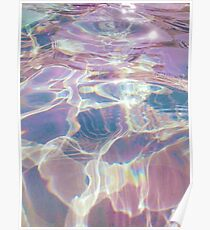 Holographic trippy Poster