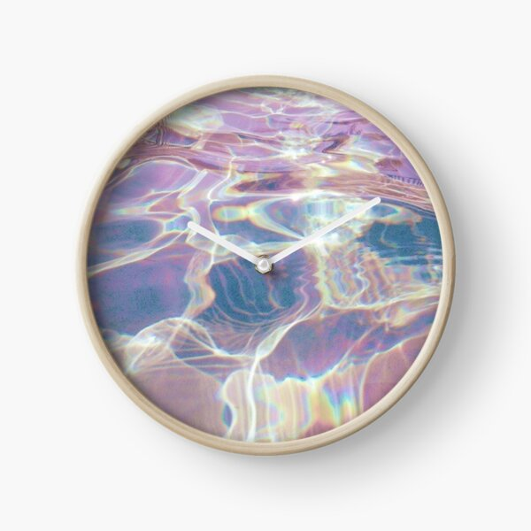 Holographic trippy Clock