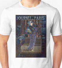Une Valentine Parisienne Unisex T-Shirt