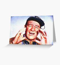 John Wayne in Hatari! Greeting Card