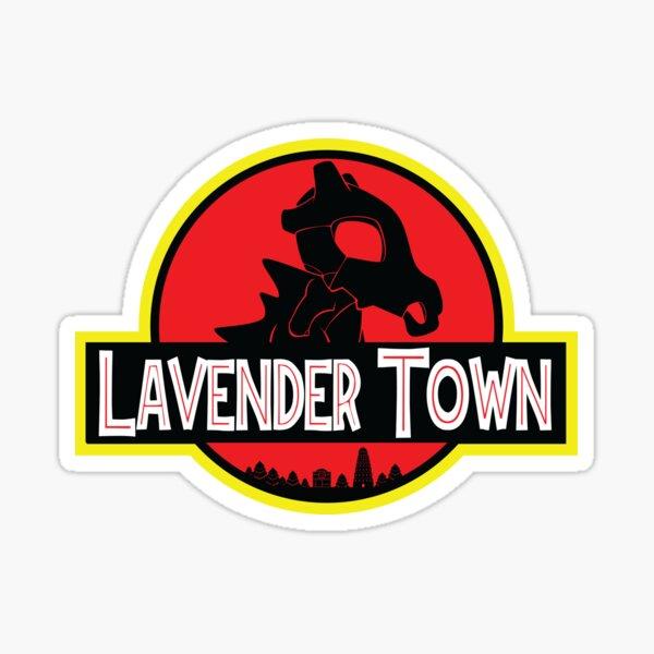 Lavender Town Sticker