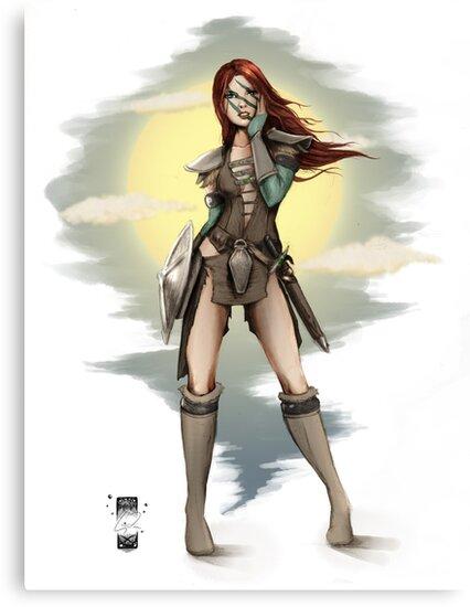 Aela The Huntress by Steevin Love