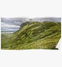 Mountain of Granny Pass - County Donegal, Ireland Poster