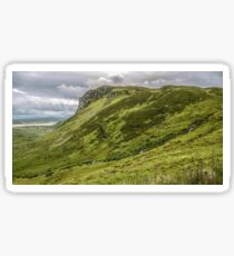 Mountain of Granny Pass - County Donegal, Ireland Sticker
