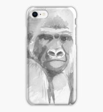 Gorilla. iPhone Case/Skin