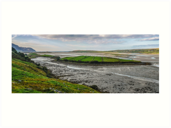 Tidal Maghera - County Donegal, Ireland by Lexa Harpell