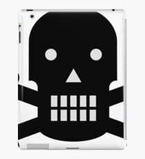 Skull And Bones- Pirates Life shirt iPad Case/Skin