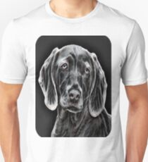 My Creative Design of a  Blue Weimaraner Unisex T-Shirt
