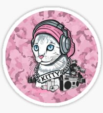Kitty Tagger Sticker