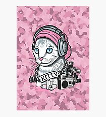 Kitty Tagger Photographic Print