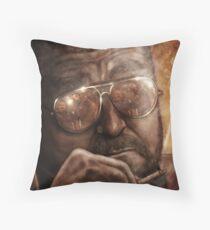 Walter- Jesus Reflection-Lebowski Throw Pillow
