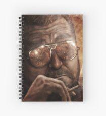 Walter- Jesus Reflection-Lebowski Spiral Notebook