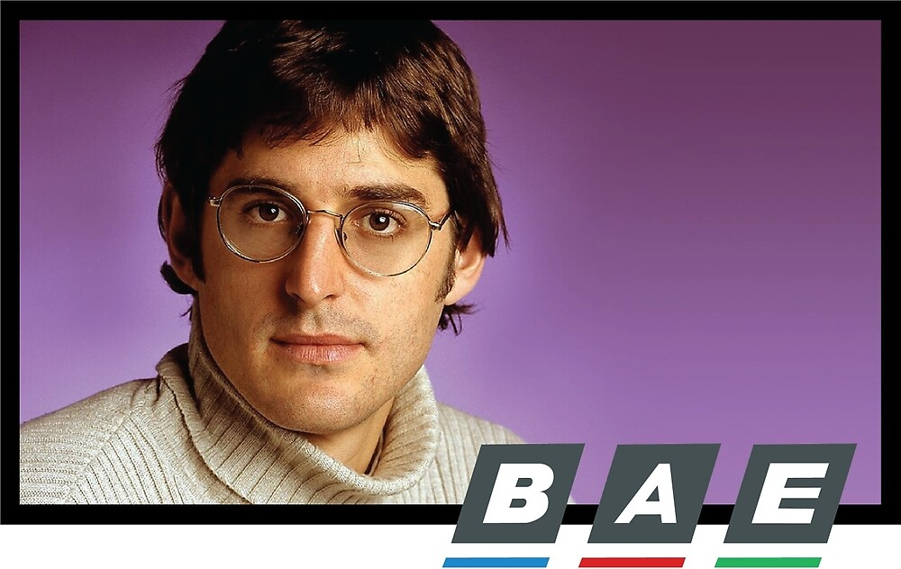 Louis Theroux BAE by Tom Gray