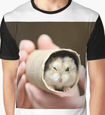 Winking Hamster Graphic T-Shirt
