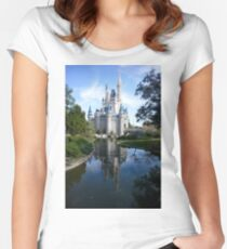 Castle Reflection Women's Fitted Scoop T-Shirt