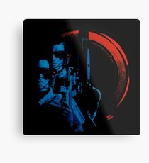 Universal Soldier Sci-fi Cover Metal Print