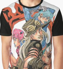 jojo SBR Johnny, Gyro & DIO Graphic T-Shirt
