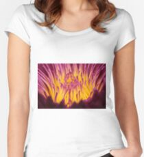 A heart of gold Women's Fitted Scoop T-Shirt