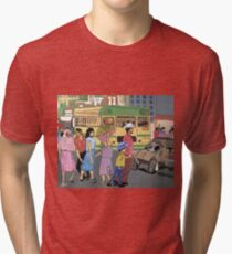 Back of the Bus Tri-blend T-Shirt