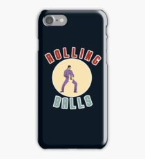 "Big Lebowski Bowling ""Rolling Balls"" iPhone Case/Skin"